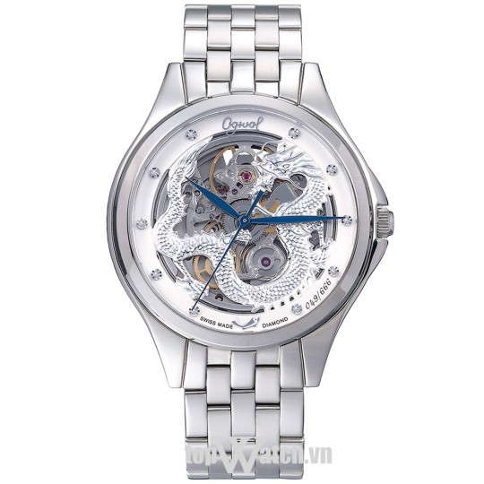 Ogival Skeleton Watch OG829-65AGS T